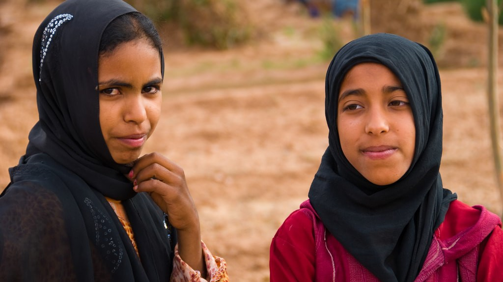 Young women in Morocco | © Anna & Michal / Flickr