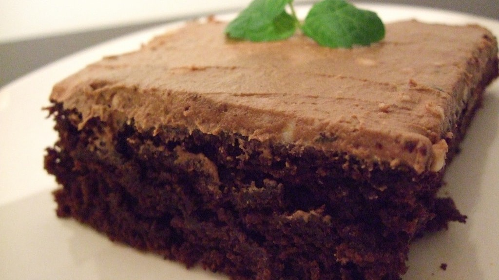 Vegan mint chocolate cake / (c) Sharon/Flickr