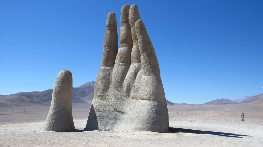 Hand of the Desert, Antofagasta | © daniel ruiz / Flickr