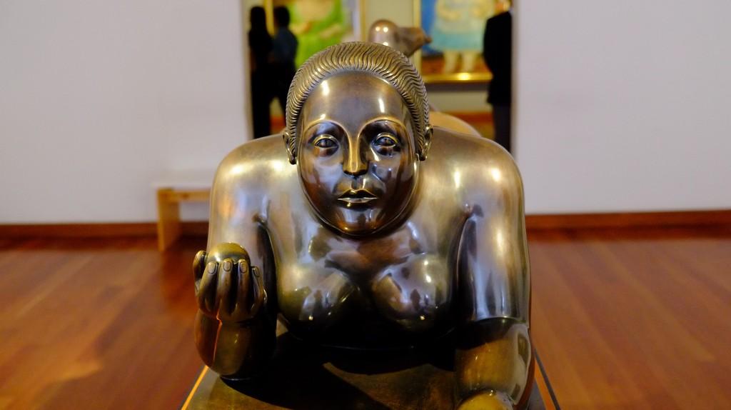 Botero´s sculptures