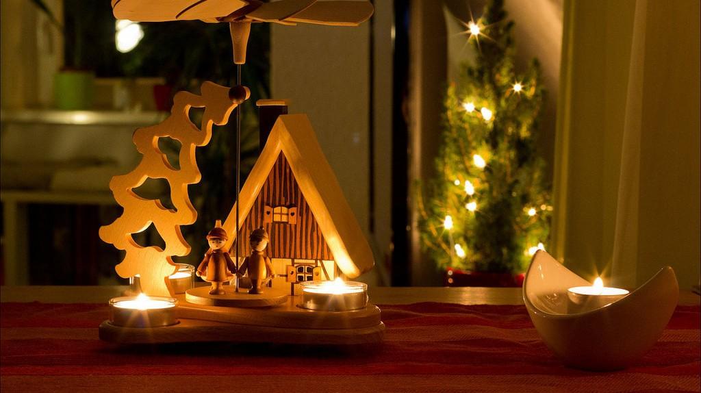 Christmas decorations, Ore Mountains | © Oleg Brovko / Flickr