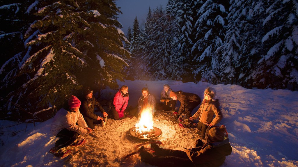 Winter chill calls for warm food and drinks around the fire