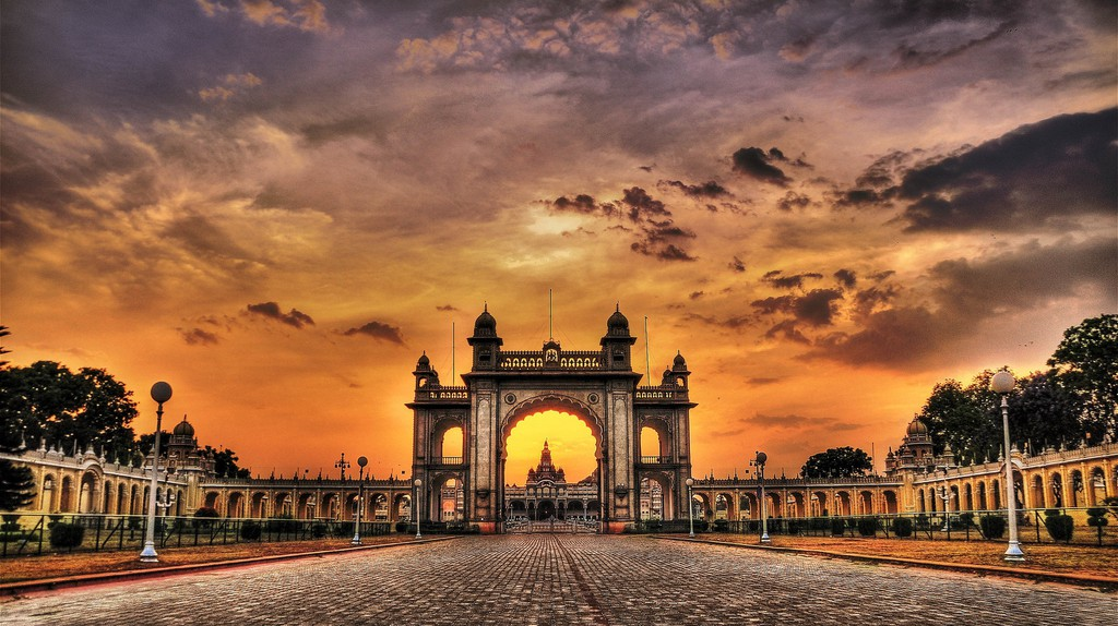 Mysore Palace | © Spiros Vathis / Flickr