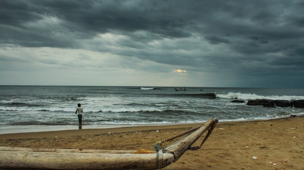 Chennai's Kovalam Beach on a cloudy day   ©Sharath Kuchi/Flickr