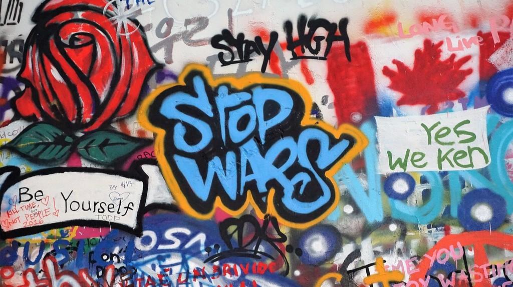Anti War Graffiti | © Pixabay