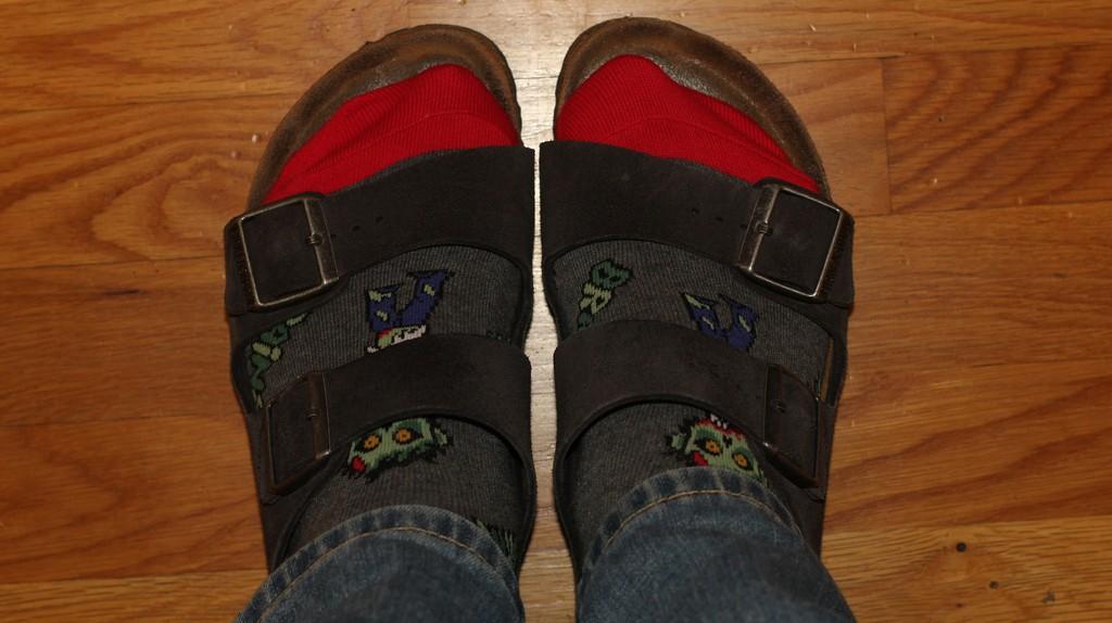 Birkenstocks and Socks | © Eli Christman / Flickr