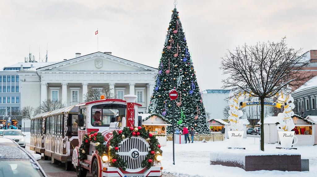 Christmas in Vilnius| ©Pavel Pavel/Flickr
