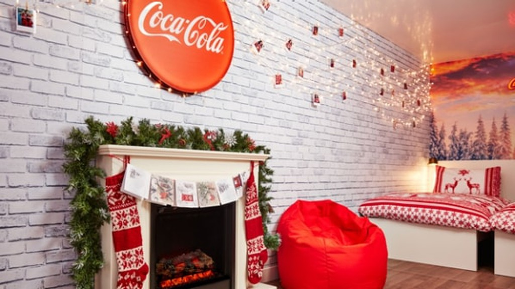 You can now have a sleepover in the Coca Cola truck   © Coca Cola
