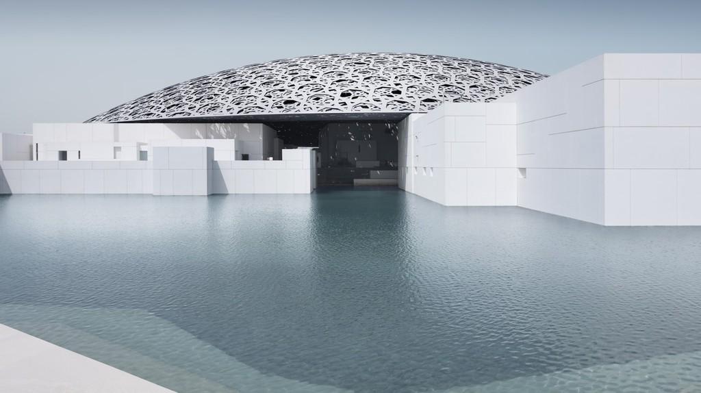 Louvre Abu Dhabiís exterior   © Louvre Abu Dhabi, Photography: Mohamed Somji