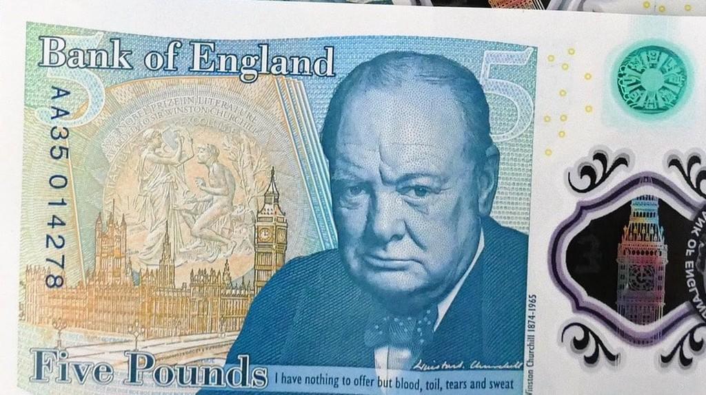 New Five Pounds note | © Pixabay