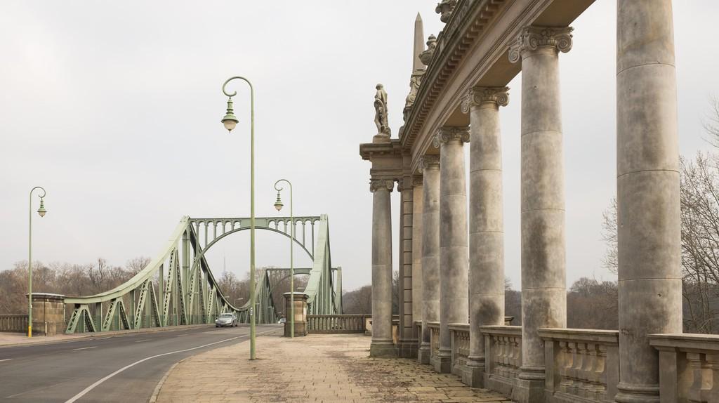 Glienicke Bridge in Potsdam