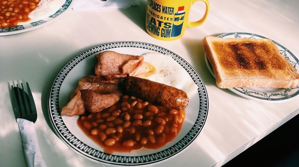 Full English Breakfast   © Pixabay