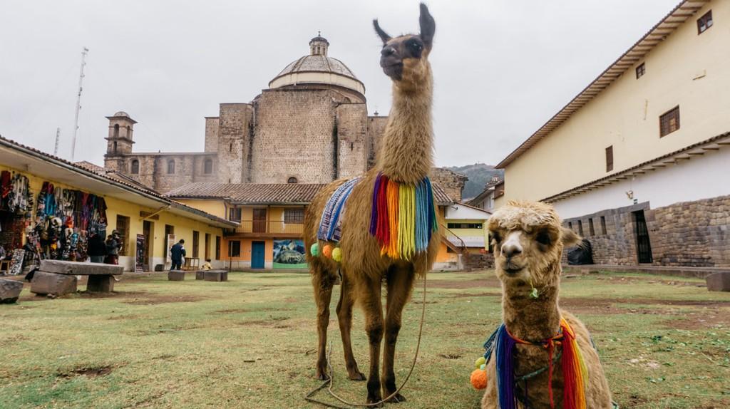 A look at a Cusco courtyard