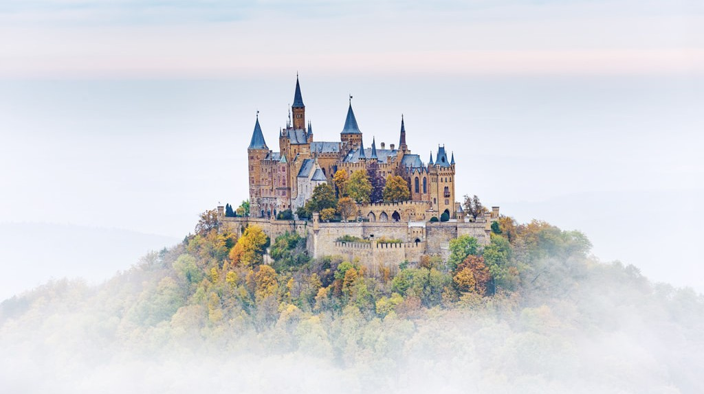 German Castle Hohenzollern