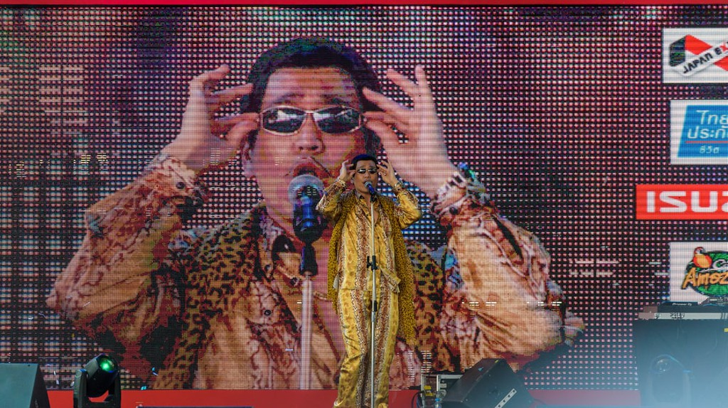 Pikotaro performs live at the Japan Expo in Thailand | © Tofudevil / Shutterstock