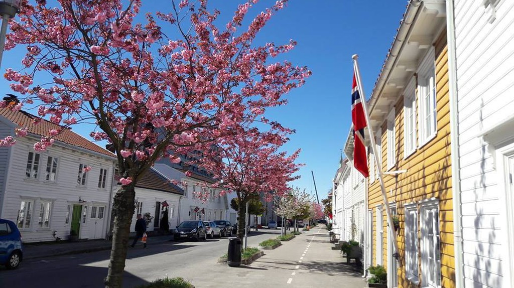 The Old Town in Kristiansand