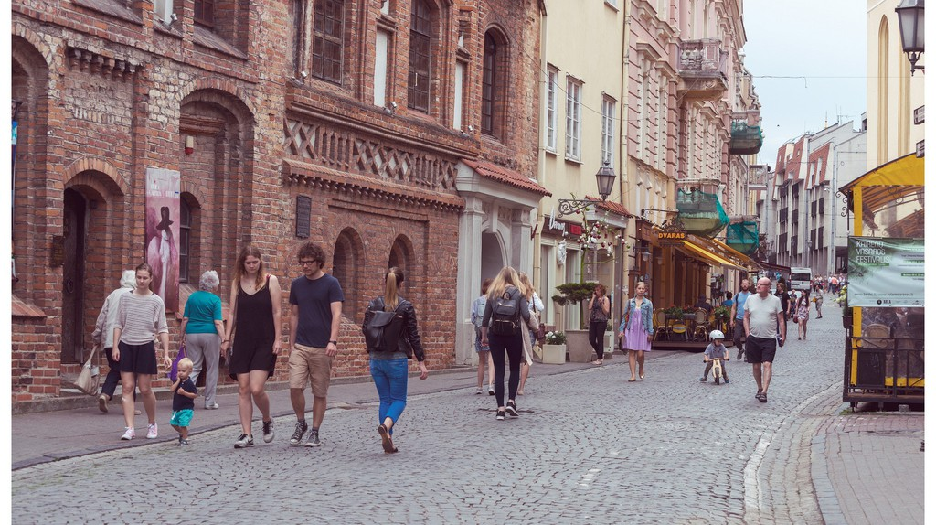 Vilnius street| ©Göran Höglund (Kartläsarn)/Flickr