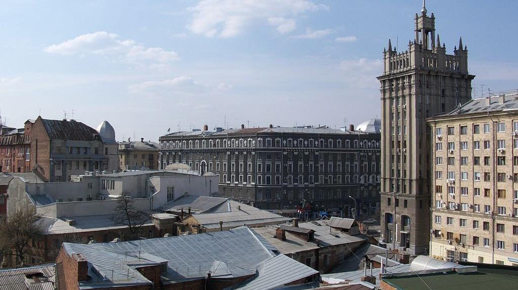 Kharkov roofs ©Vizu/WikiCommons