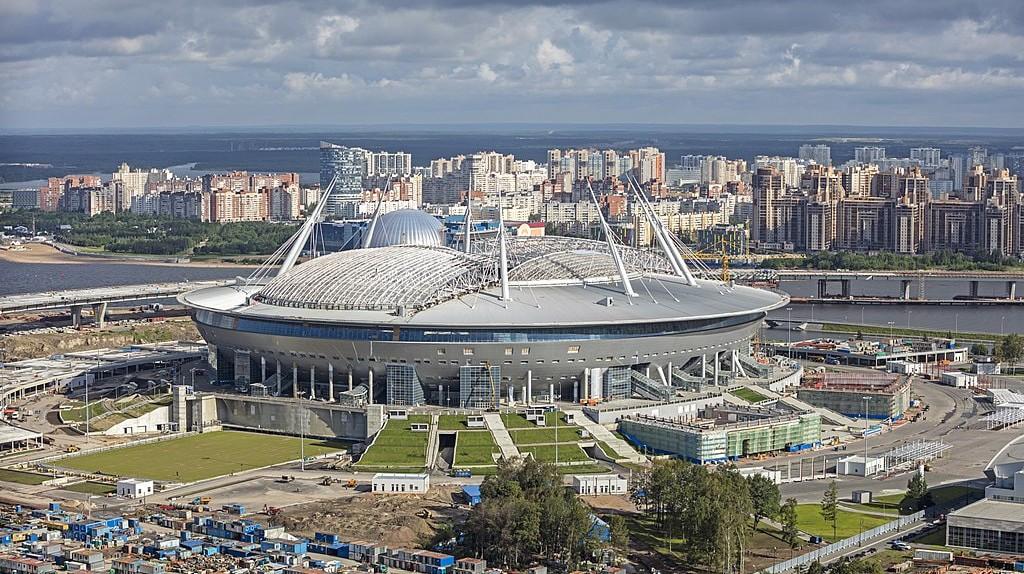Krestovsky Stadium, Krestovsky Island, Saint Petersburg, Russia | © Godot13 / WikiCommons