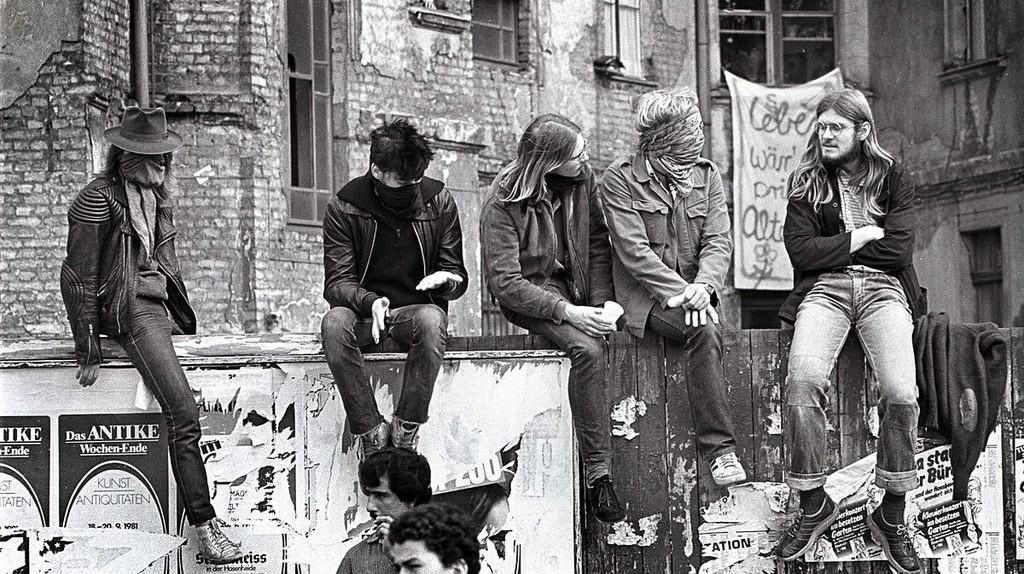 1980s Kreuzberg squat | © Tom Ordelman / WikiCommons