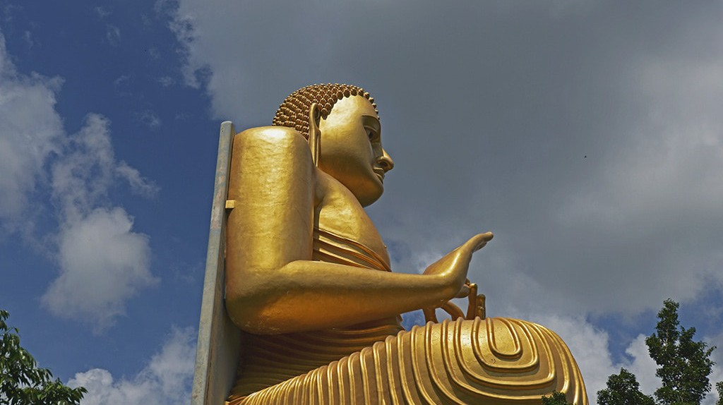 Golden Dambulla Temple   © Koshy Koshy / Flickr