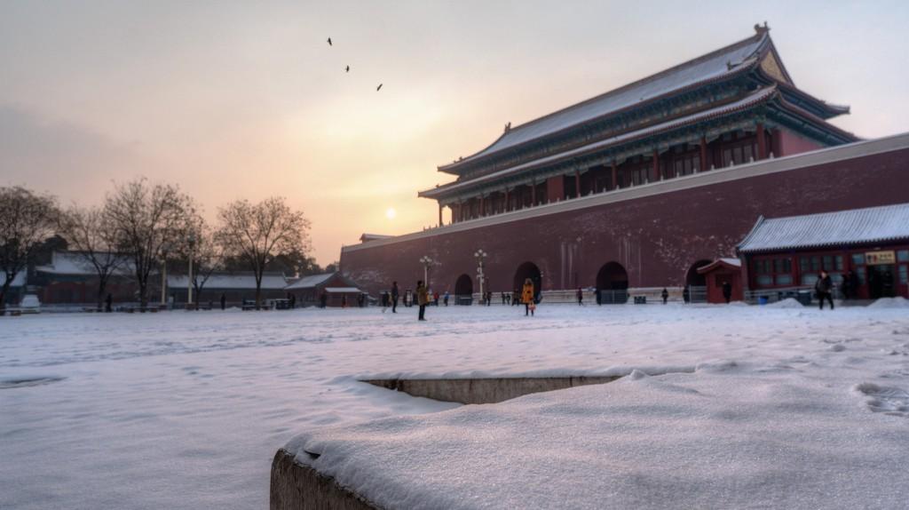 Snowy morning at the Forbidden City | © Nathan Quarles / Flickr