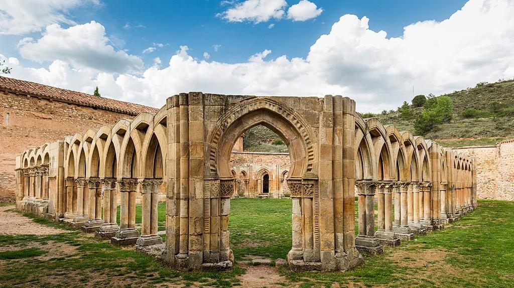 Monasterio de San Juan de Duero, Soria, Spain | ©Diego Delso / Wikimedia Commons