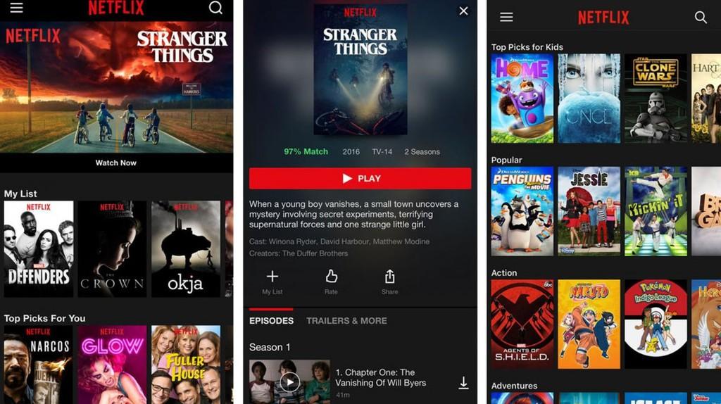 Netflix options | © Netflix