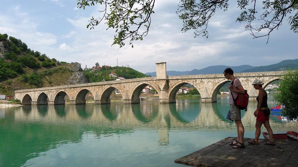Quite literally, the bridge on the Drina | ©MyBukit/Flickr