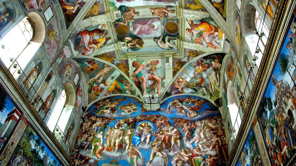 Michelangelo's frescos provide the backdrop for the Sistine Chapel Choir   © BriYYZ/Flickr