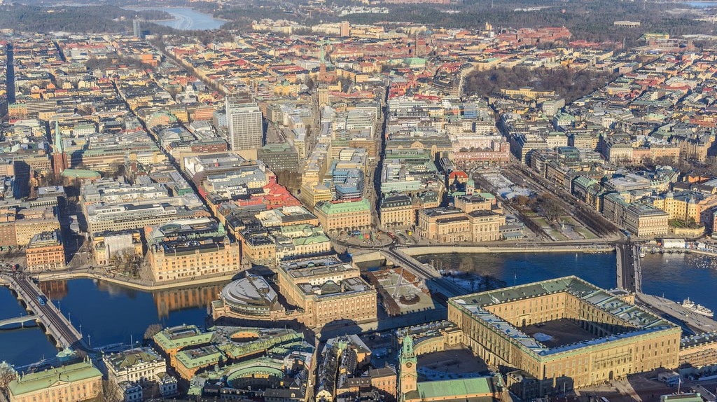 Stockholm from the air | © Arlid / Flickr