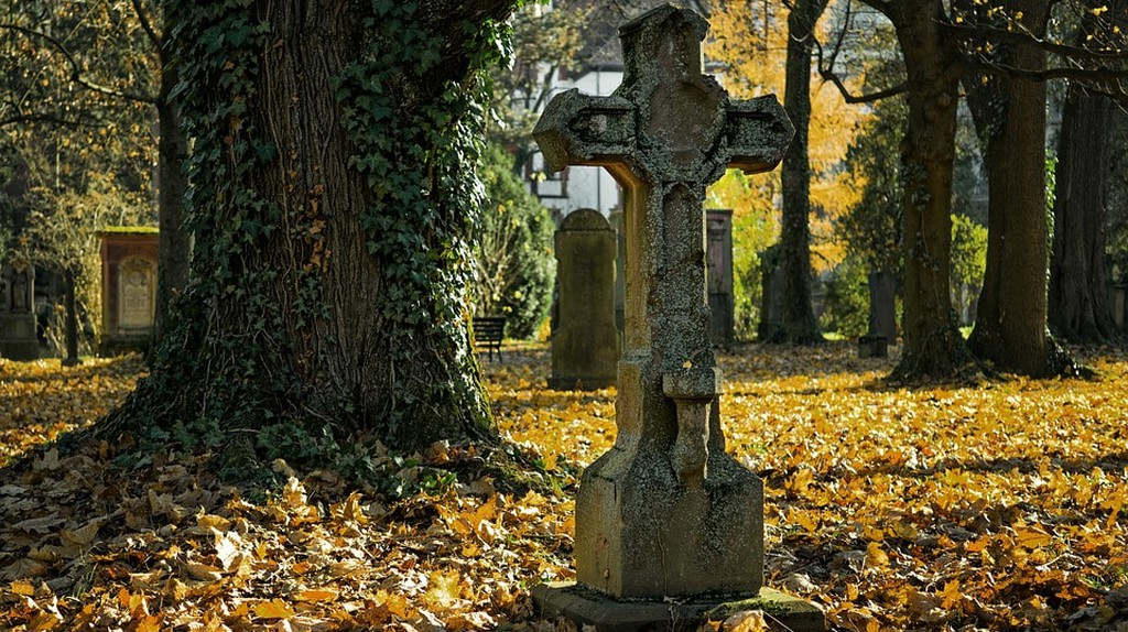A cemetery in autumn | ©Pexels / Pixabay