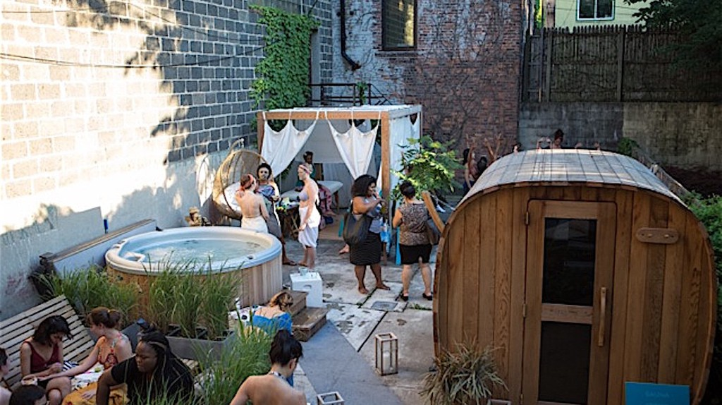 Zen in the City at Brooklyn's Hidden Boutique Bathhouse
