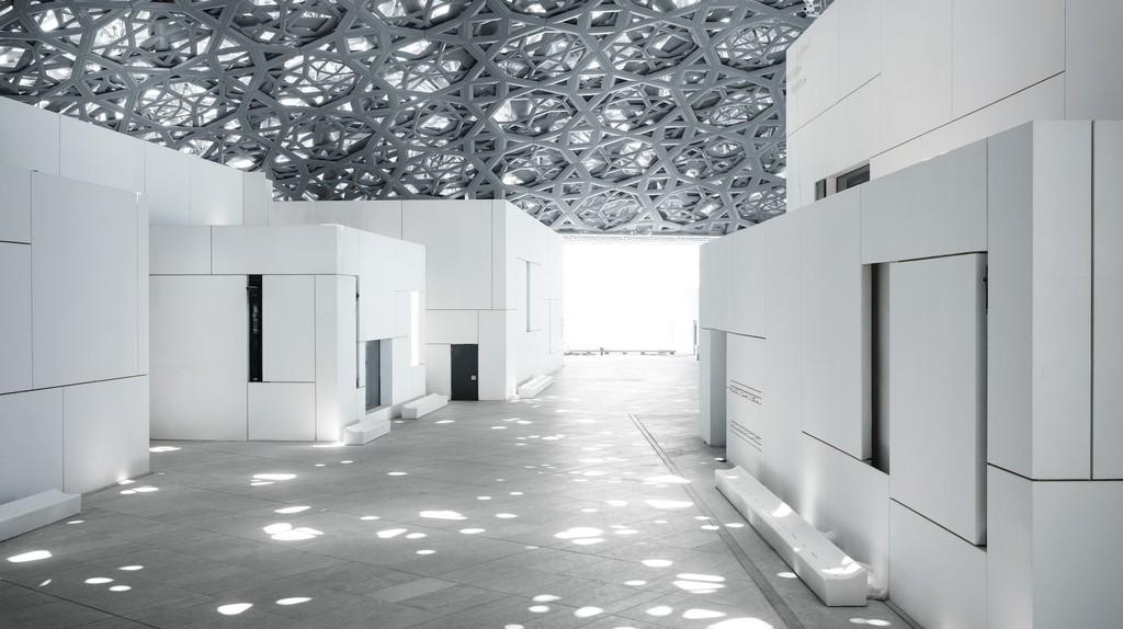Louvre Abu Dhabi's ërain of lightí   © Louvre Abu Dhabi, Photography: Mohamed Somji