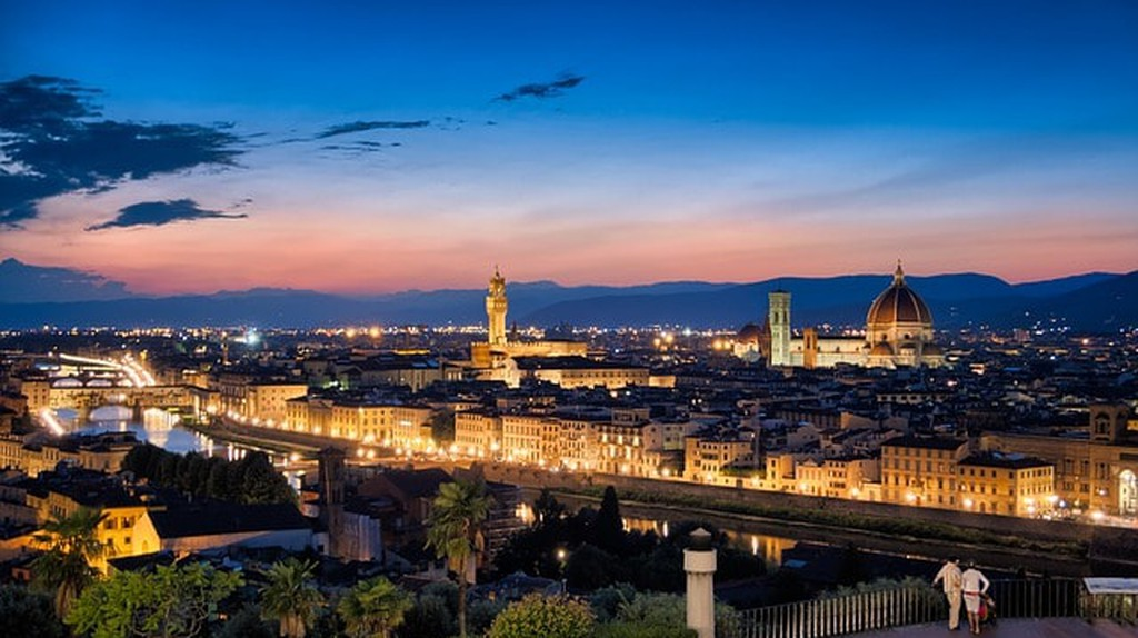 Sunset over Florence ©MustangJoe/Pixabay