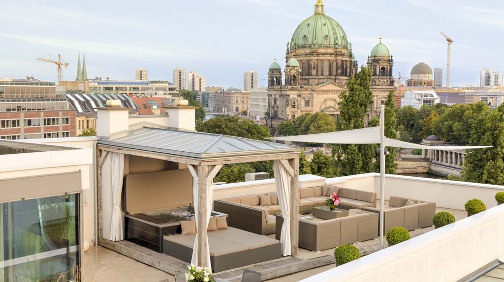 Monbijou Penthouse Rooftop View | © Suite.030/ Courtesy of Suite.030