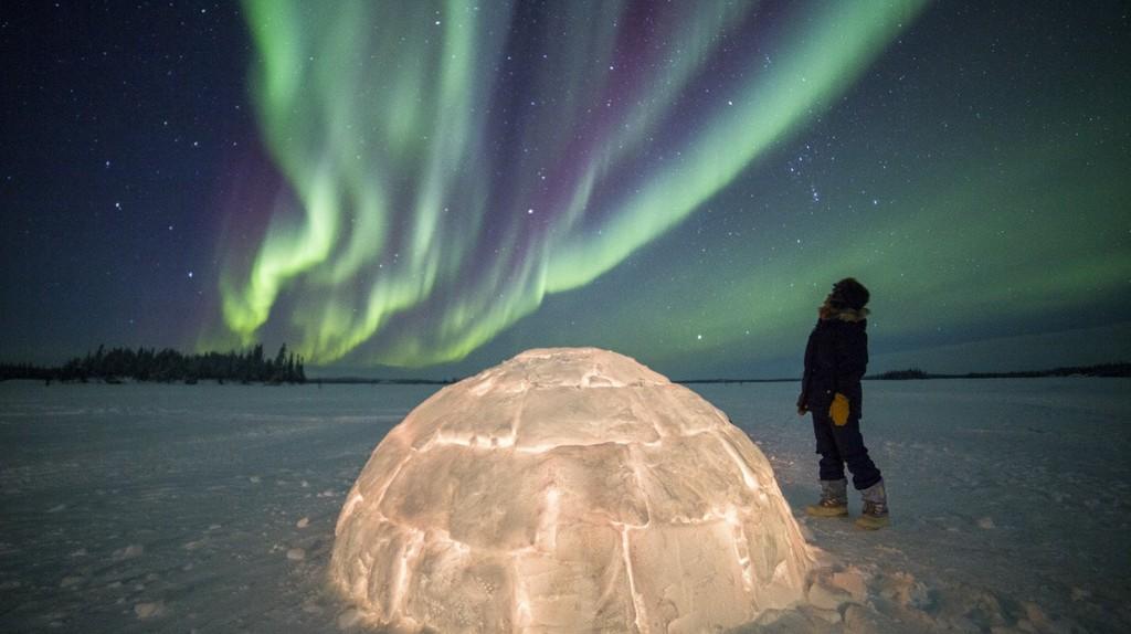 Northern Lights | © Blachford Lake Lodge / Martina Gebrovska