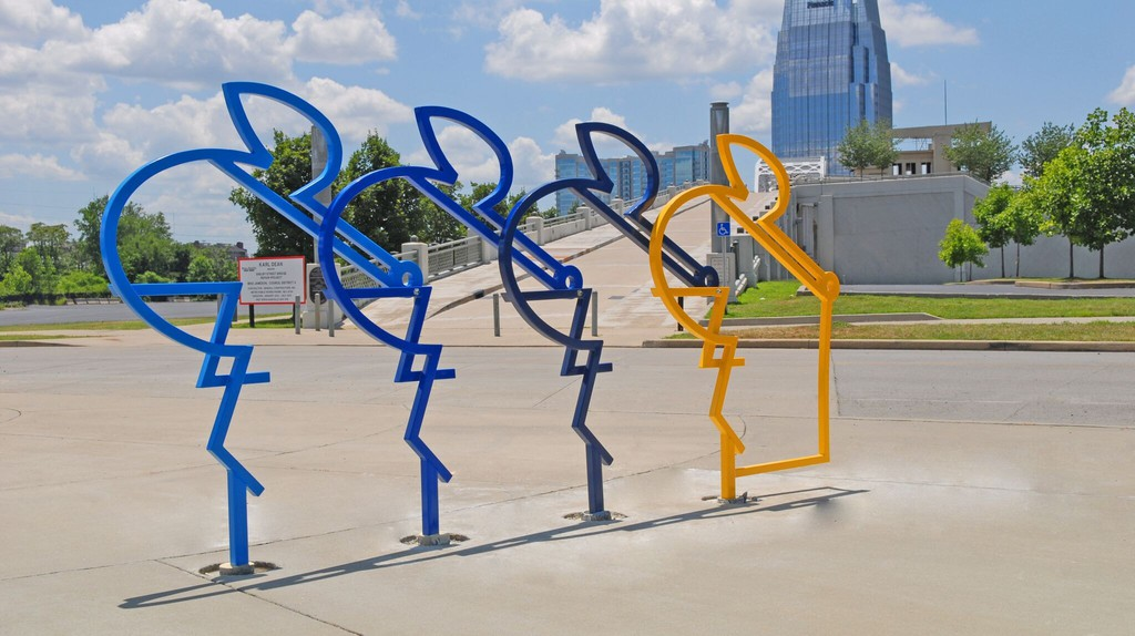 The Riders by Seth Conley   © Stacey Irvin / Metro Nashville Arts Commission