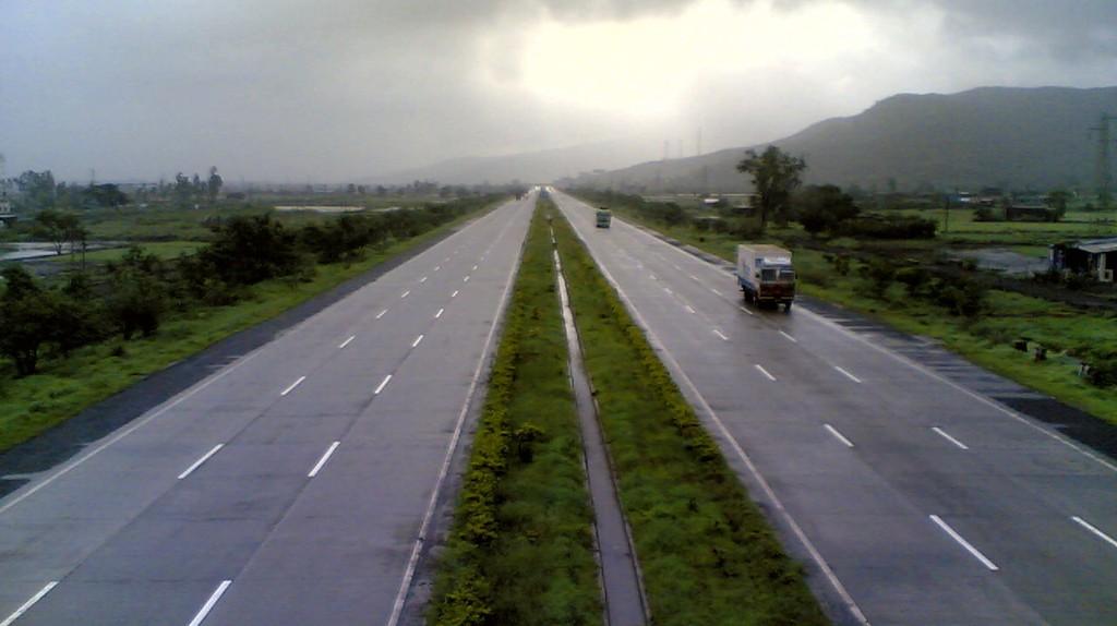 The Pune-Mumbai Expressway