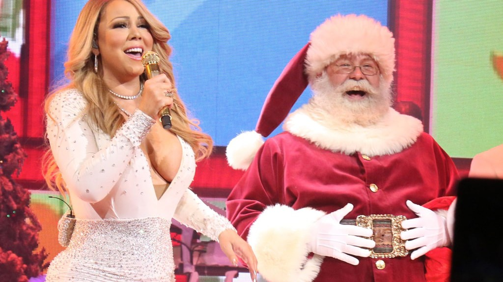 'All I Want for Christmas Is You' concert, New York, USA   © Gregory Pace/REX/Shutterstock