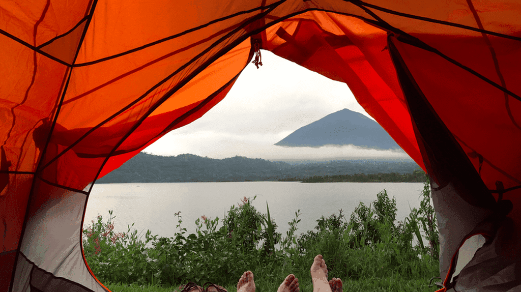 Camping on Lake Burera | © Courtesy of Leah Feiger
