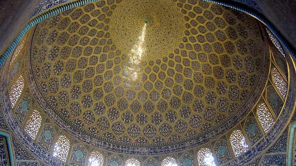 Sheikh Lotfollah Mosque Dome | © David Stanley/Flickr