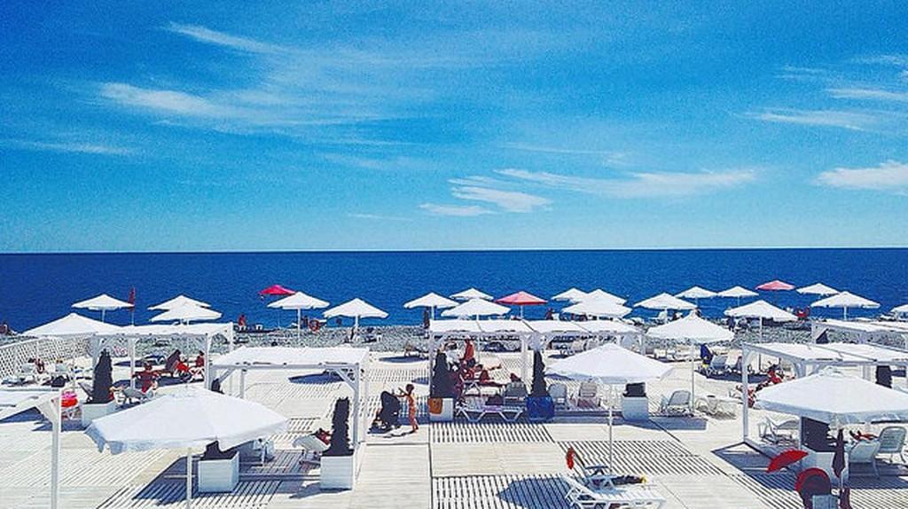Sochi is a luxury destination