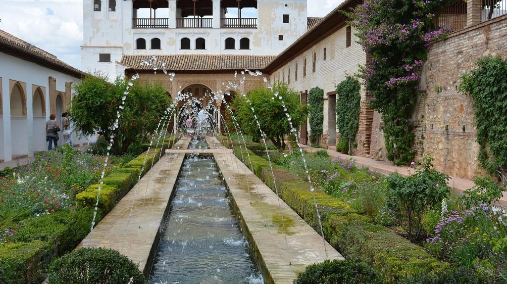 Generalife, Granada, Spain   Max Pixel