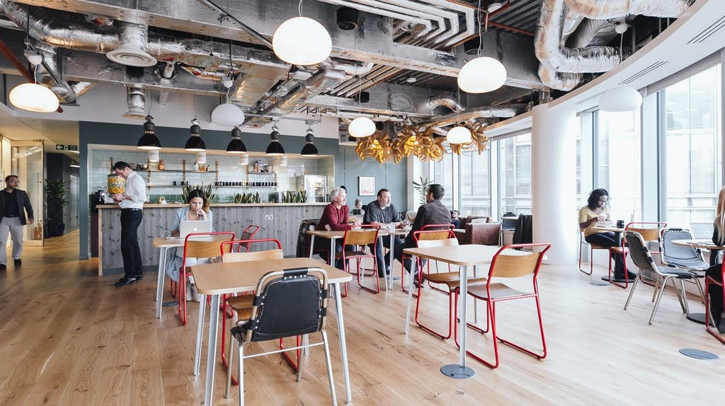 WeWork co-working space in Spitalfields, London | © WeWork