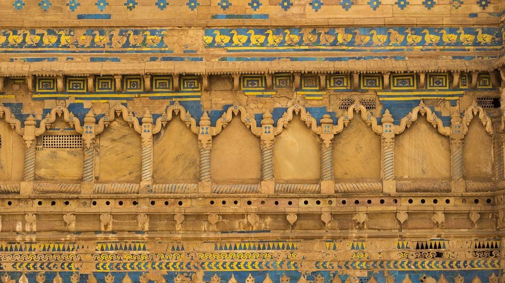 Wall of Man Singh Palace | © thakurankush1989/Pixabay