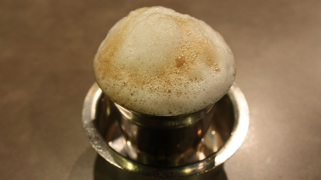 The frothing filter coffee served in a tumbler-davara combo is a traditional favorite among Chennaiites   © Wikipedia