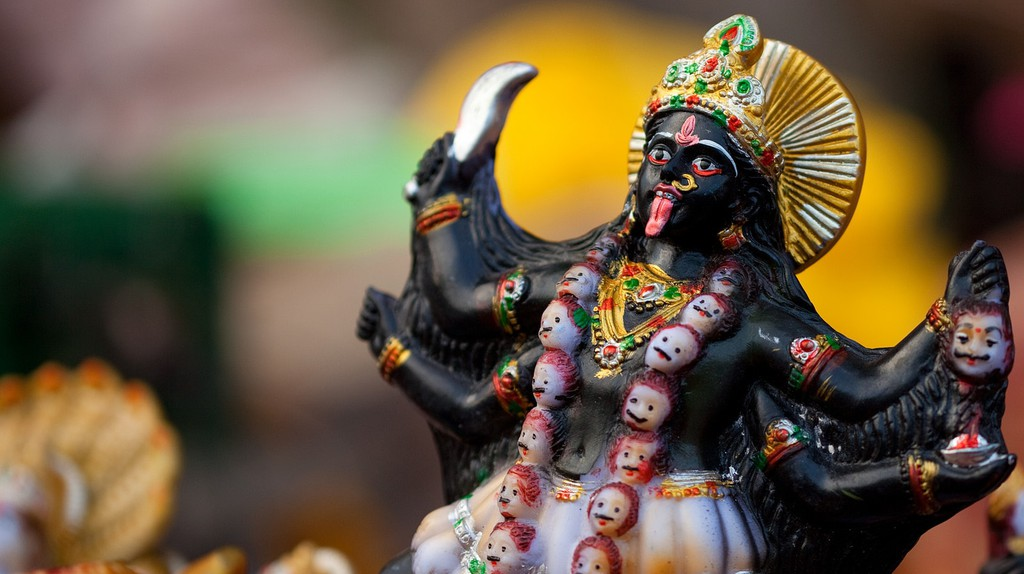 An idol of Hindu Goddess, Kali | © Vinoth Chandar / Flickr