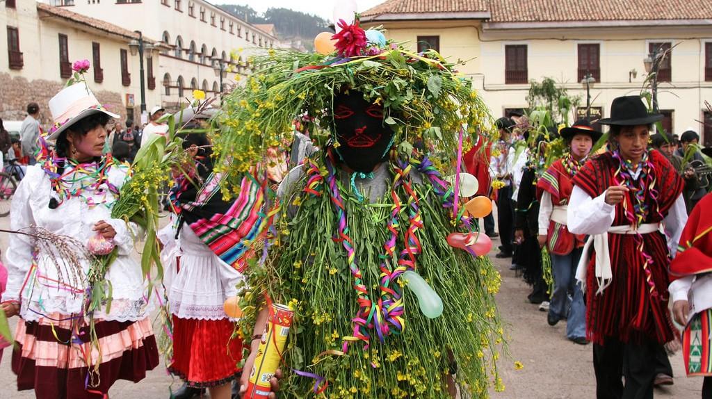 Carnival in Cusco, Peru