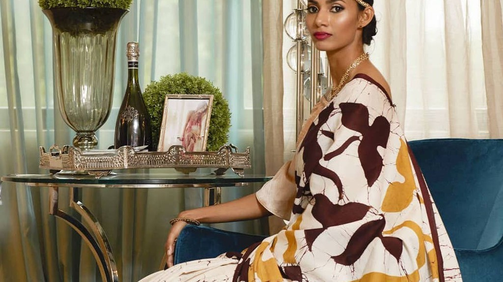 Beautiful batik by Nithya   Courtesy of Nithya